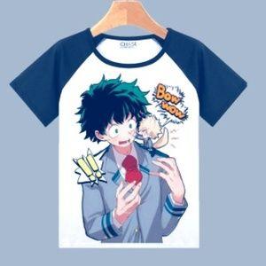 My Hero Academia T-Shirt NEW Deku Midoriya, Bakugo